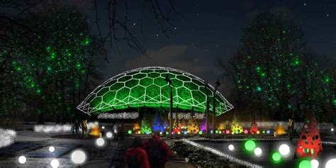 Christmas In St Louis Ruby A Blog By Virgin Atlantic St Louis Botanical Gardens Lights