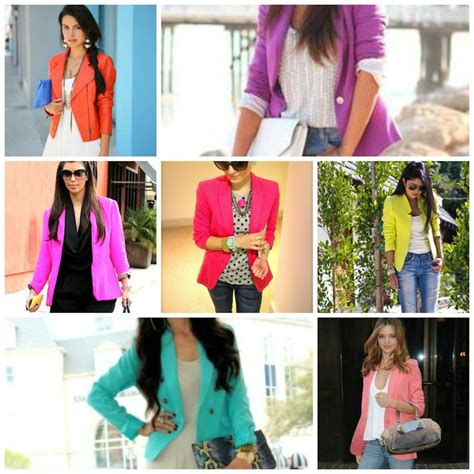 colored blazers 17 best ideas about colored blazer on