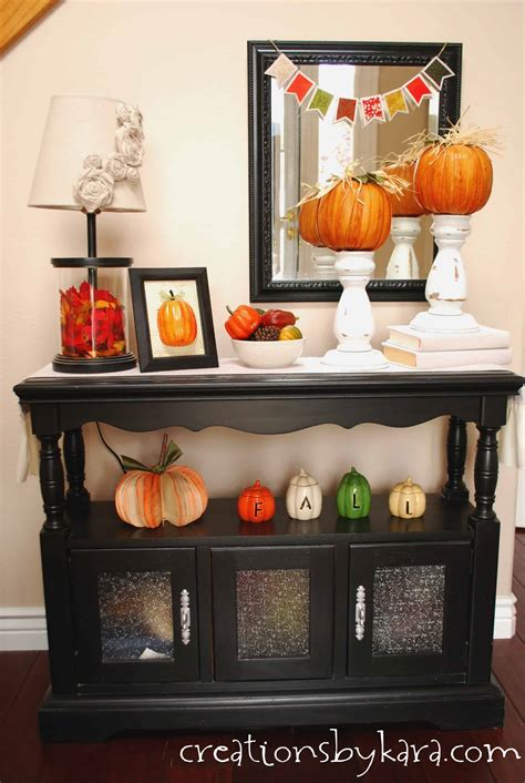 Home Entry Decor by Fall Decorating Ideas Entryway Table Decor