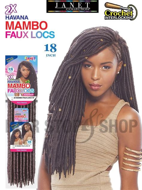 faux locs shop in south jersey janet collection synthetic hair crochet braids 2x havana