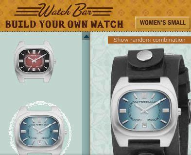 design your own watch design your own fossil watch lifestyle
