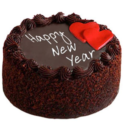 new year peanut cake send new year chocolate cake with hearts 1 kg to