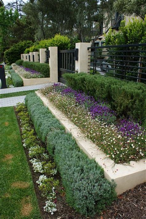 layered landscaping landscaping pinterest fencing