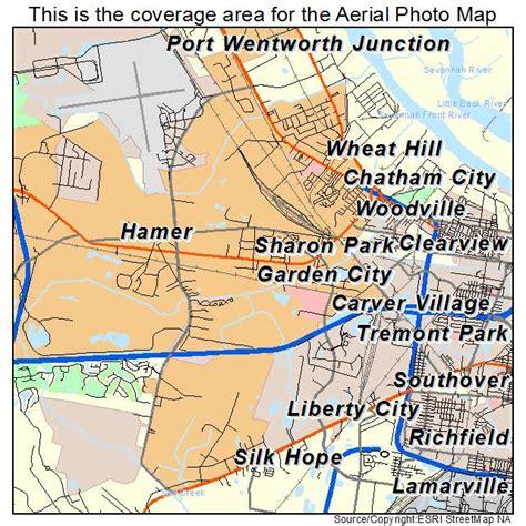 garden city ga aerial photography map of garden city ga