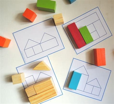 pattern building games free printable block puzzles blocks building