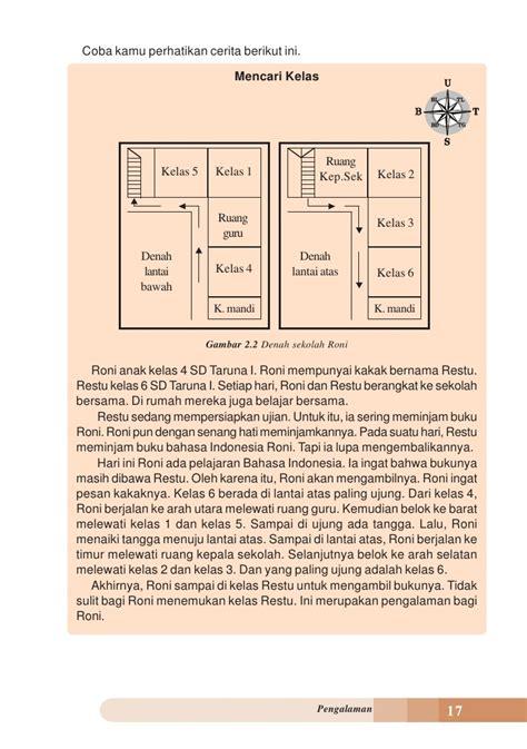 denah ruang kelas sekolah dasar kelas iv sd bahasa indonesia umri nuraini