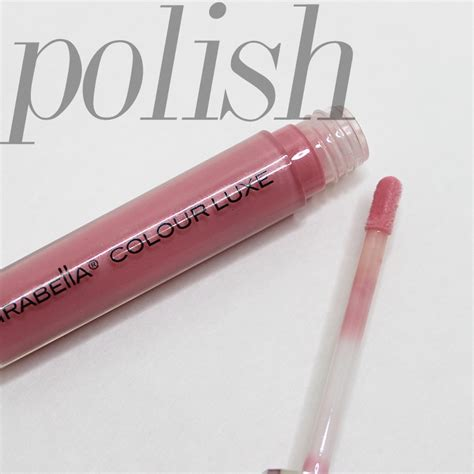 Lipgloss Mirabella mirabella colour luxe lip gloss in glossed and
