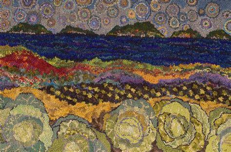 Landscape Fabric Scotia Hooking Rugs Courses Deanne Fitzpatrick