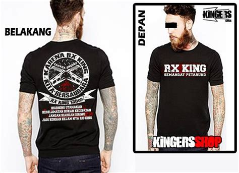 Kaos Rx King 203 jual beli koas motor rx king baru kaos baju t shirt pria murah