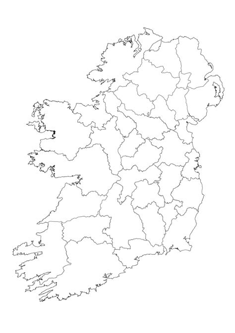 Ie Map Area Outline by Best Photos Of Ireland Map Outline Printable Ireland Map Outline Ireland Map Outline And