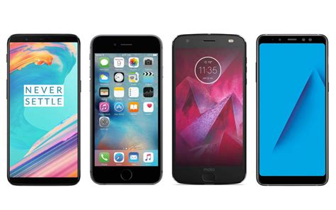 moto z2 vs oneplus 5t vs iphone 6s vs samsung galaxy a8 plus specifications features