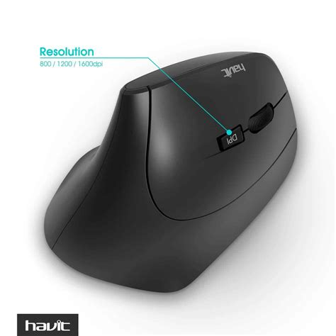 Mouse Wireless Havit Hv M901gt wireless vertical mouse havit hv ms55gt ergonomic optical
