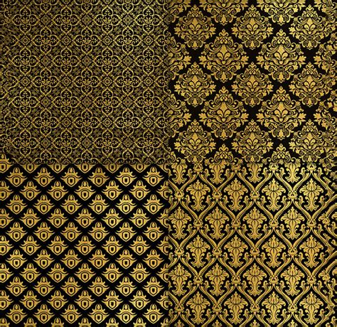 pattern gold and black 139 golden seamless patterns free psd png vector eps
