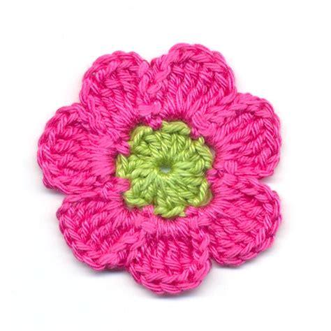 bloem haken patroon gratis haakpatroon bloem