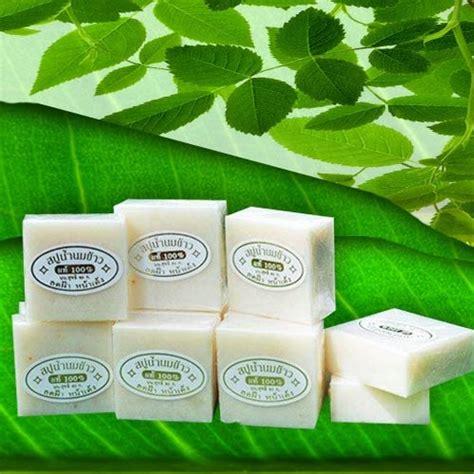 Soap Thailand New Packing jual rice milk soap sabun beras new packaging box pacakging due shop
