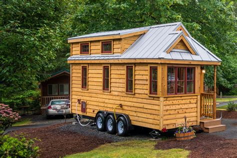 miniature homes quot lincoln quot tiny house rental at mt hood tiny house village