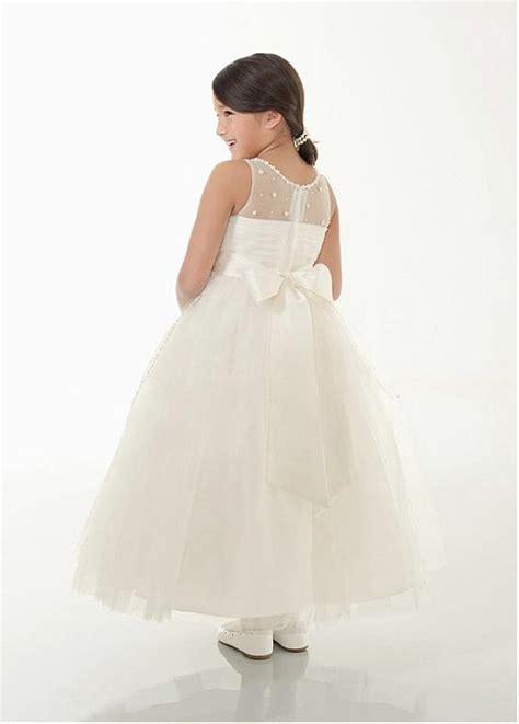 lovely satin amp organza ball gown flower girls dresses