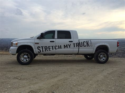 dodge mega cab long bed longbed conversions stretch my truck