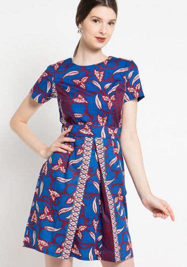 model dress batik modern desain blus model pakaian