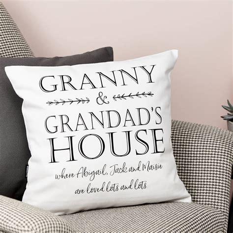 Alised Grandp Nts House Cushion By Tillyanna