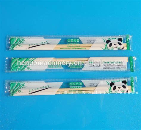 Sumpit Sachet Chopsticks Sachet one chopsticks packaging machine with competitive price buy chopsticks packaging machine