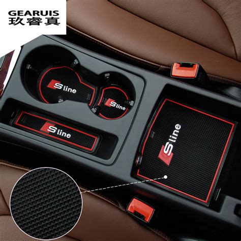 audi s line accessories aliexpress buy high quality gate slot pad rubber car