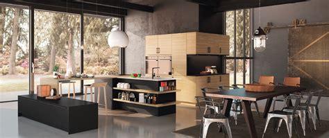 cuisines proven軋les photos cuisine contemporaine d 233 cor bois gaia zenit haut de