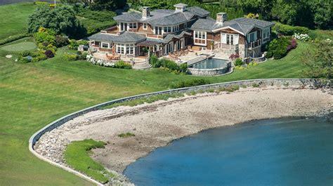 million shingle stone waterfront home