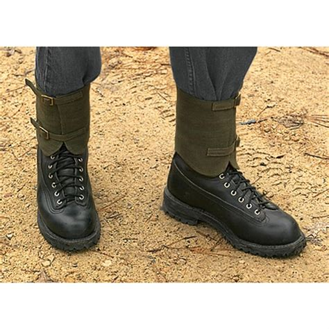 boot gaiters canvas boot gaiters images