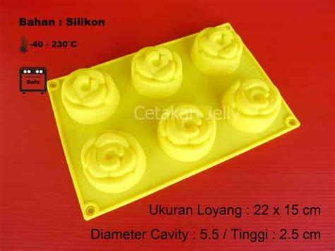 Cetakan Silikon Puding Kue Doraemon 6 Cav cetakan silikon puding kue medium 6 cav iii cetakan jelly cetakan jelly