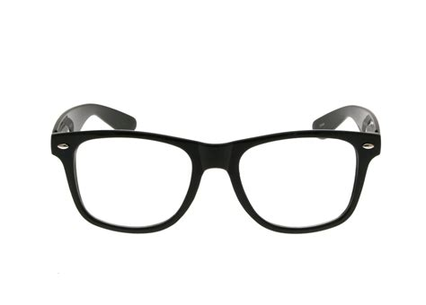 glasses clipart drawn spectacles nerd pencil and in color drawn