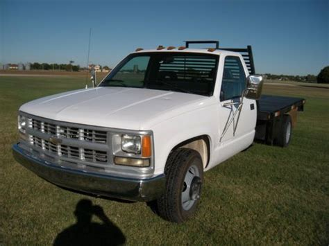 how cars run 1994 chevrolet 3500 electronic throttle control purchase used 1994 chevrolet 3500 1 ton flatbed 350 automatic great truck 132k miles low reser