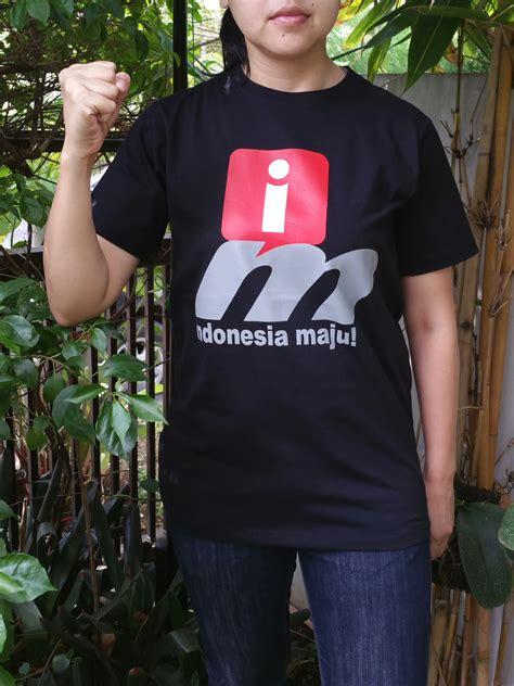 Tshirt Kaos U i tshirt indonesia maju kaos distro kaka