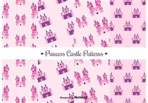pattern princess vector free princess castle vector pattern download free vector