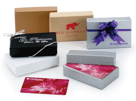 Gift Card Impressions - gift card boxes first impressions packaging
