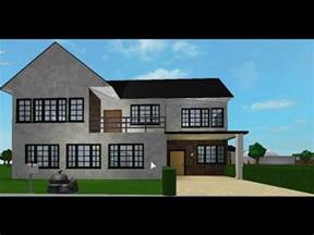 cheap 2 story houses bloxburg speedbuild 2 story small house part 2 youtube