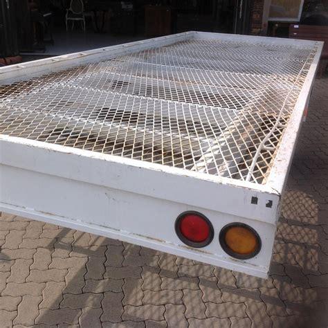 2 mal 2 meter decke 6 meter flat deck trailer basic sense