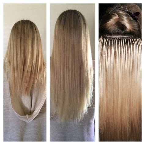 how to put in bead extensions best 25 micro bead hair extensions ideas on
