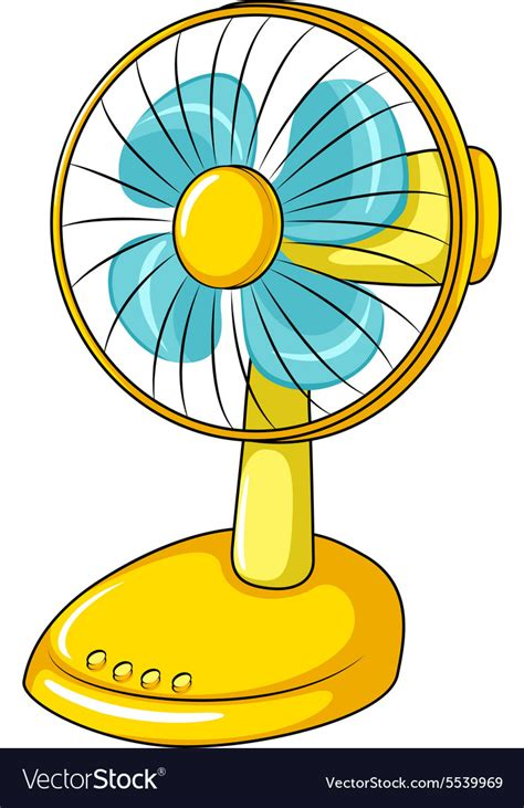 picture of a fan electric fan royalty free vector image vectorstock
