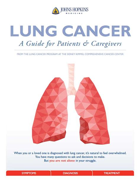 patient care news the face of lung cancer changes but lung cancer a guide for patients caregivers