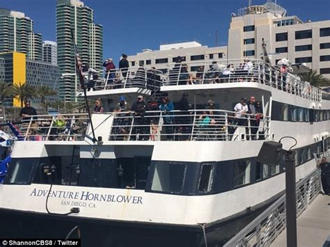 boat crash in san diego san diego harbor cruise boat hits pier injuring 7 daily