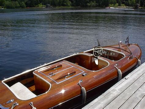 best wood for boats this is a beauty port carling and muskoka antique wooden