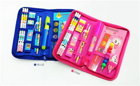 Pouch Bag Set Korea Import 1 Set Dapat 2 Tas canimal stationery set from pinkfoot co ltd b2b marketplace portal south korea product