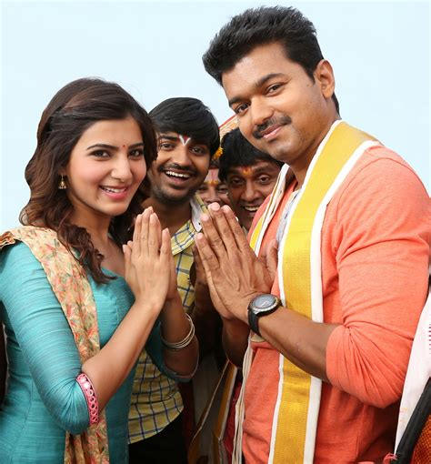 actor vijay number of movies kathi movie stills vijay and samantha 2 171 south indian