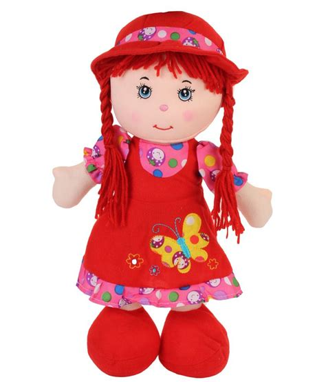 funny teddy cute dolls in red dress 40 cm buy funny