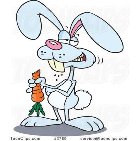 Ro N St Piyama Rabbit rabbit munching on a carrot 2789 by leishman
