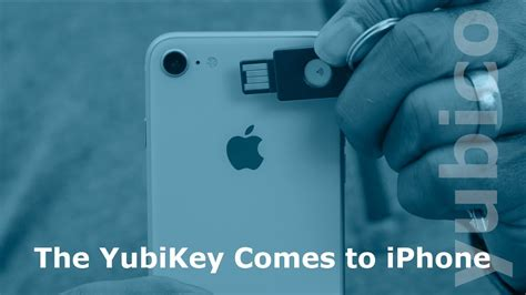 the yubikey comes to iphone