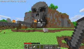 Skull Facade 1680 215 988 Minecraft Exles Pinterest Minecraft Mountain House Plans