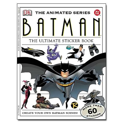 The Cookbook Dk Publishing Ebook E Book batman the animated series sticker book dk publishing batman books at entertainment earth