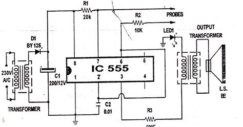 what is meant by 220e resistor 555 ic project mosquito repelling circuit